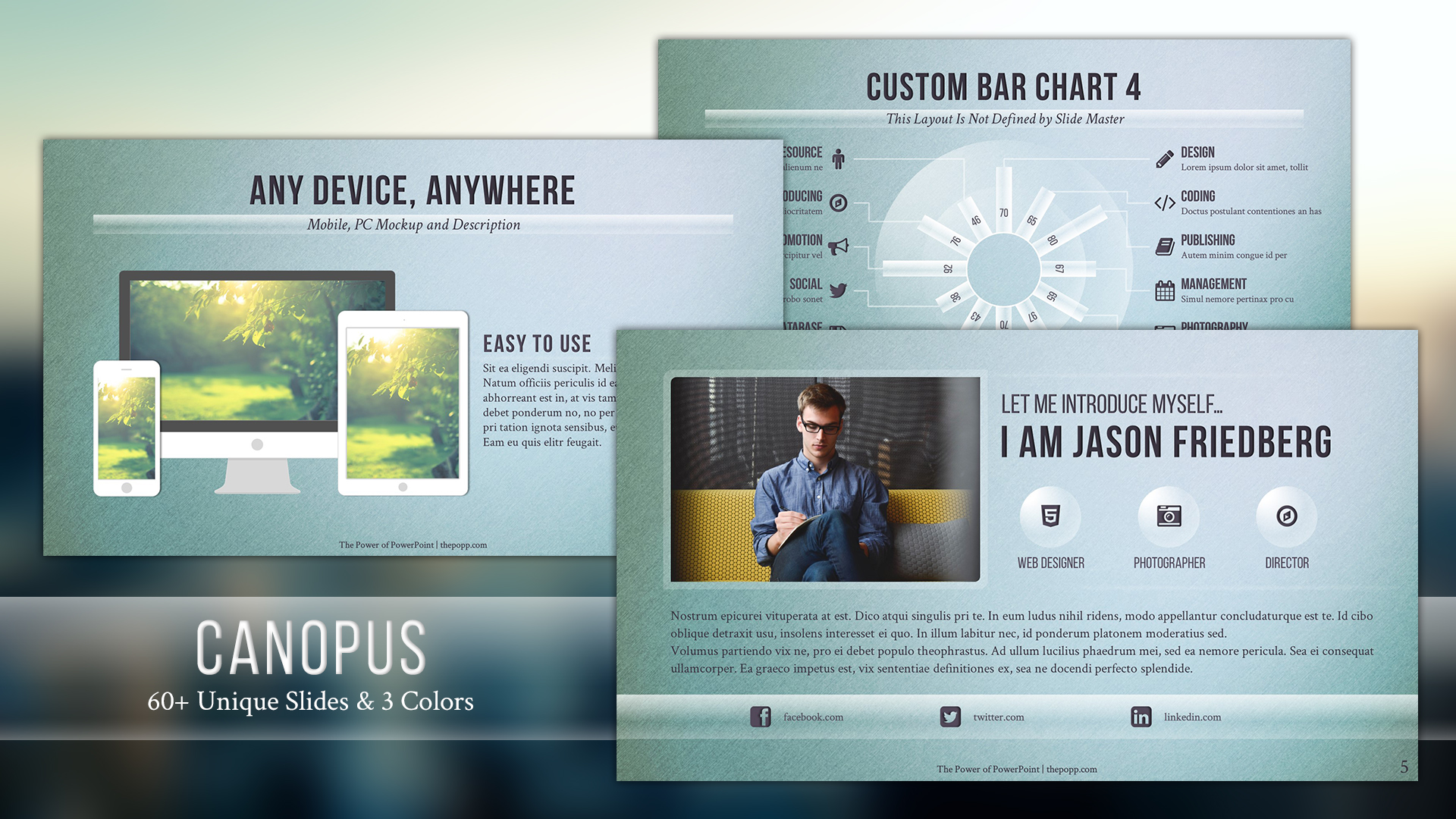 canopus free powerpoint template フリーパワーポイントテンプレート